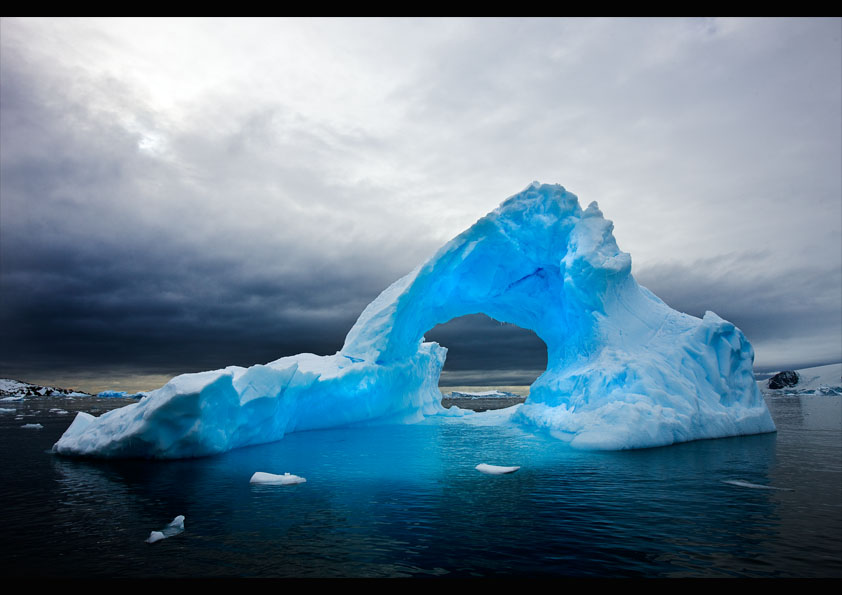 Isberg Antarktis
