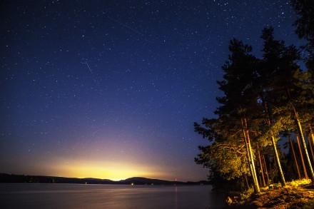 Stjärnhimmel över Gimmen