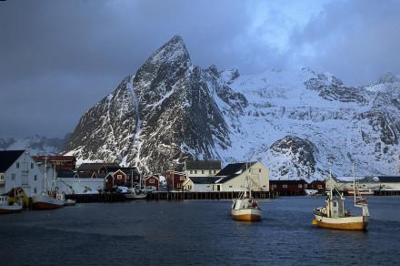 Hamnöy Lofoten,Norge