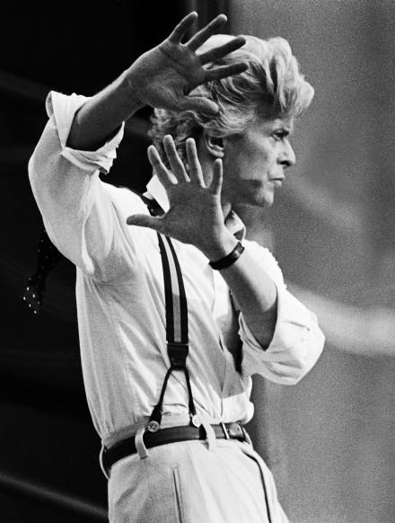 David Bowie på Ullevi i Göterborg,1983.