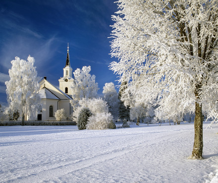 Siljansnäs kyrka.