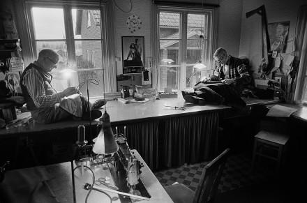 Skräddarna Björklund Siljansnäs December 1982