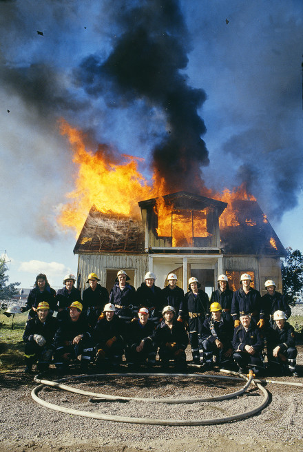 Leksands brandkår 1985