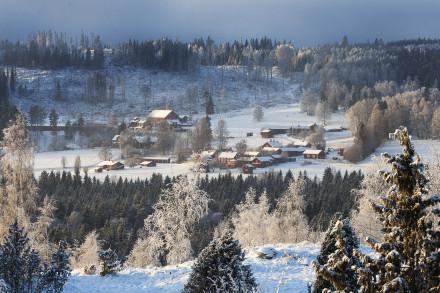 Västberg by, Leksand, Dalarna