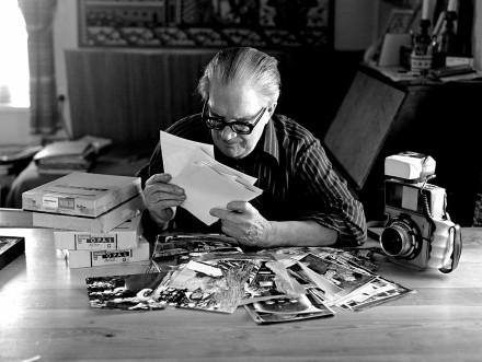 Fotograf Alfred Hedén Insjön.