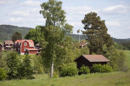 Leksands byar, Ytteråkerö by.